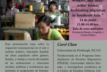 """Bonded labor, child workers, and 'mail order' brides. Retinking migration in Southeast Asia"""