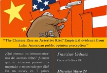 Seminario: The Chinese Rise an Assertive Rise? Empirical evidence from Latin American public opinion perception