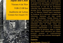 Workshop: Global History in Japan and Chile